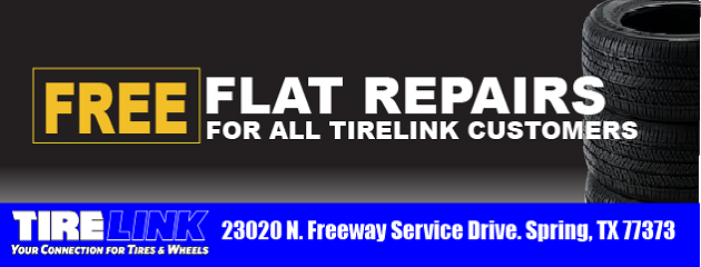 FREE FLAT REPAIRS FOR ALL OUR CUSTOMERS.